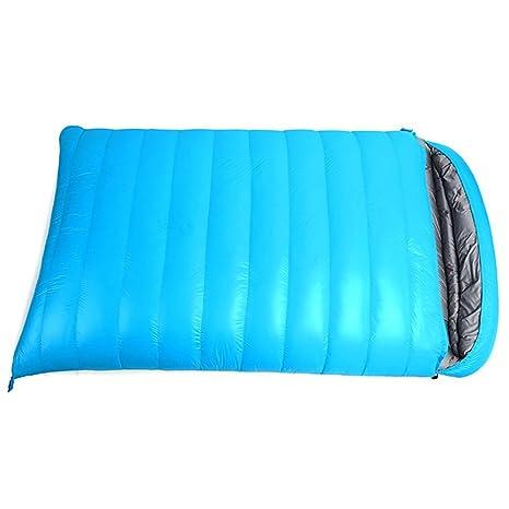 LOLIVEVE Saco De Dormir Tamaño Doble Al Aire Libre -10 ~ -25 Grados C