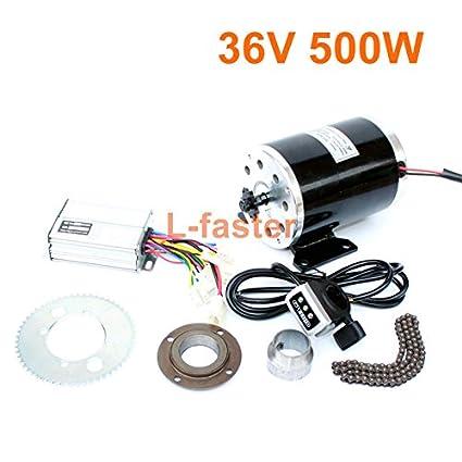 elektro kit 25h 500w mit kettenantrieb high elektro kart conversion kit roller ersatz elektro motorrad speed