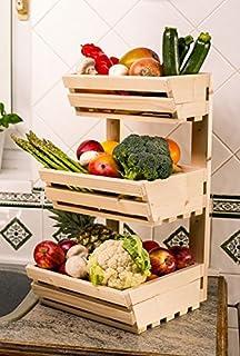 Vegetable Rack Classic 3 Tier Mountable