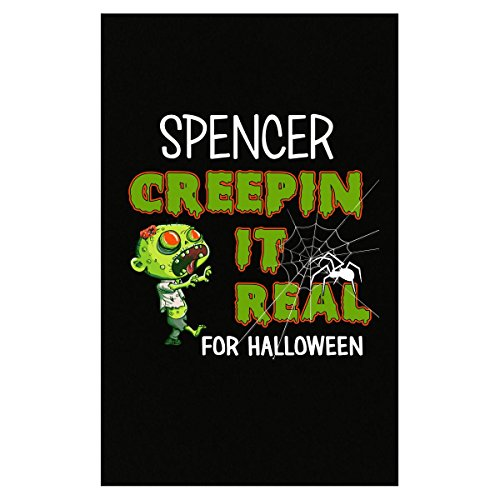 Prints Express Spencer Creepin It Real Funny Halloween Costume Gift - Poster -