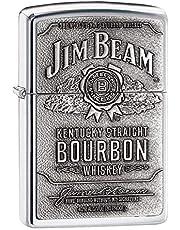 Originele Jim Beam Zippo | met metalen plaat | klassieker