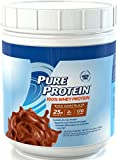 Pure Protein® 100% Whey Powder - Rich Chocolate, 1 pound