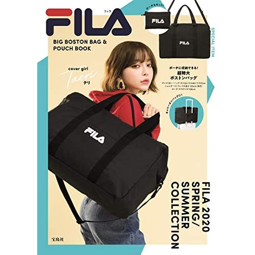 FILA BIG BOSTON BAG & POUCH BOOK 画像