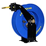 Goodyear 50' x 3/8'' Dual Arm Air Hose Reel W/Made in USA Hose