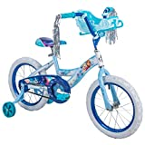 Girls 16 inch Huffy Disney Frozen Bike with Sleigh Carrier