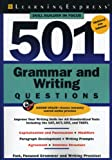501 Grammar and Writing Questions, LearningExpress Editors, 1576857484