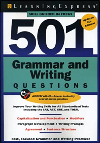 Amazon 501 grammar and writing questions fast focused 501 grammar and writing questions fast focused practice 501 series 4th edition fandeluxe Image collections
