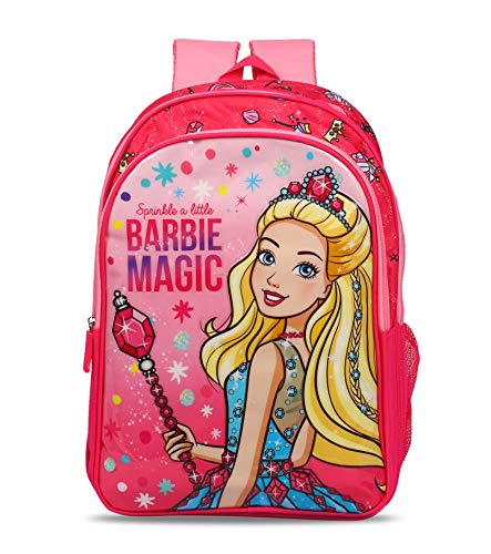 Barbie Magic 20 Ltrs 36 Cms Pink School Bag/Backpack
