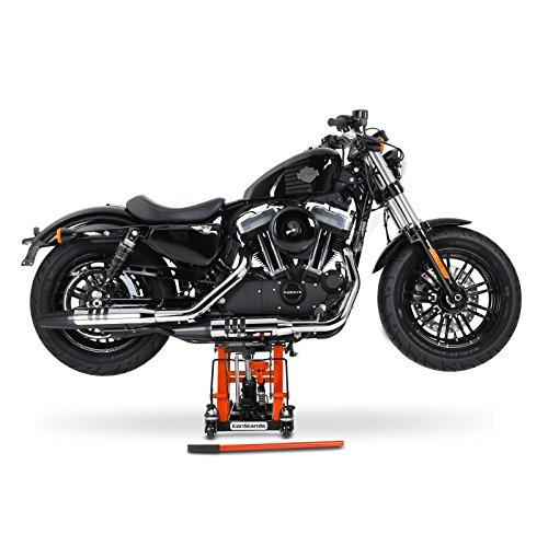 FLHS Electra Glide Ultra Classic// Limited FLHTCU//I // // FLHT FLHTK Ponte Sollevatore Cavalletto Alza Moto Lift Idraulico ConStands L nero-arancione Harley Davidson Electra Glide Sport// Standard