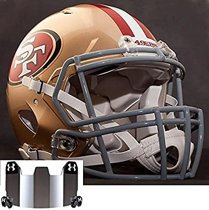 72000168f Image Unavailable. Image not available for. Color  Riddell Speed SAN  Francisco 49ers NFL Authentic Football Helmet ...