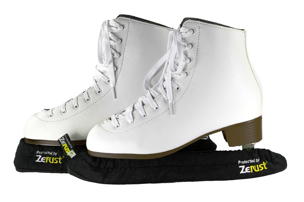 Figure Skate Rust Prevention and Protection Blade Covers made with Zerust Rust-Prevention Technology - Adult Size Large 8-12