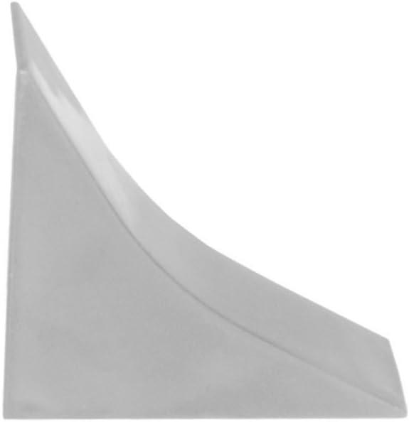 HOLZBRINK K/üchenabschlussleiste Granit hell K/üchenleiste PVC Wandabschlussleiste Arbeitsplatten 23x23 mm 150 cm