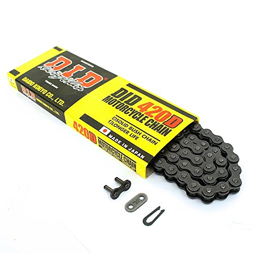 Racing 420D/ Kette D.I.D /Dirt Bike//Pit Bike//Mini Moto /110/GLIEDER/