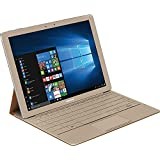 """Samsung Galaxy TabPro S Convertible 2-in-1 Laptop / Tablet, 12"""" Full HD+ Touchscreen, Intel Core m3-6Y30, 8GB Memory, 256GB SSD, Intel HD graphics 515, 10.5hr Battery Life, Windows 10, Gold"""