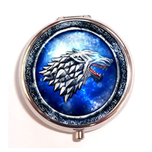 games-of-thrones-house-stark-custom-round-silver-pill-box-pocket-20-inches-medicine-tablet-holder-or