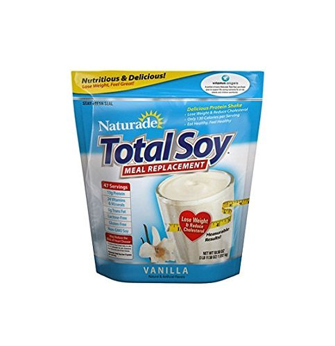 Total Soy-Naturade Soy Meal Replacement New Formula, 59.58oz Vanilla Flavor by Naturade