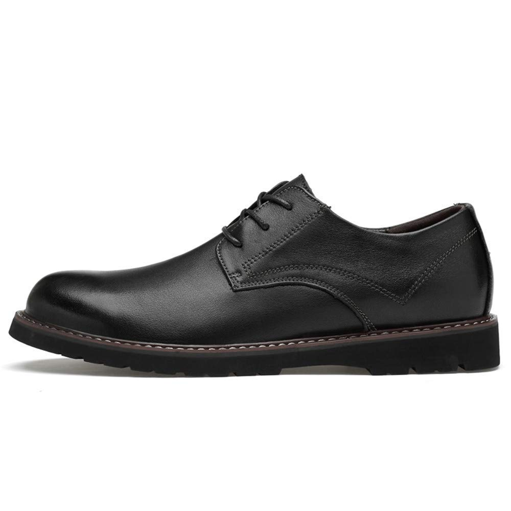 FuweiEncore FuweiEncore FuweiEncore 2018 Männer Soft Low Top High-End-OX Leder Business Oxford Casual Klassische Formale Schuhe (Farbe   Schwarz, Größe   41 EU) (Farbe   Schwarz, Größe   38 EU) ed176c