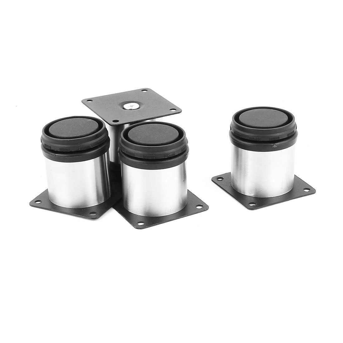 uxcell Adjustable Cabinet Legs Stand 4pcs for Tea Table Bed Shelf