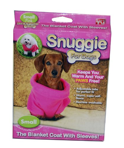 Snuggie Dogs Pink As Seen