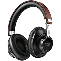 AudioMX Wireless / Wired aptX Headphones, V4.1 Bluetooth Stereo Over-Ear Headsets with Built-in HD Microphone for Cell Phones and PC