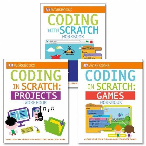 DK Publishing Coding with Scratch Workbook Set (Set of 3) - Paperback by DK Publishing (Image #4)