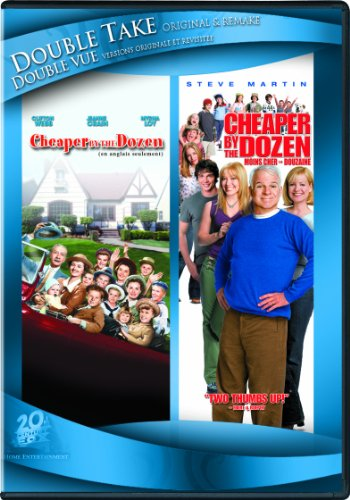 Cheaper By The Dozen (1950) / Cheaper By The Dozen (2003) (Original and Remake) (Bonnie Hunt Cheaper By The Dozen 2)