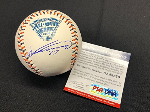 (Signed Vladimir Guerrero Ball - 2005 All Star Game Major League * - PSA/DNA Certified - Autographed Baseballs)