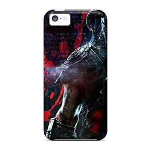 Perfect Hard Phone Cover For Iphone 5c (DPe16707IXUn) Customized Stylish Skyrim Pattern