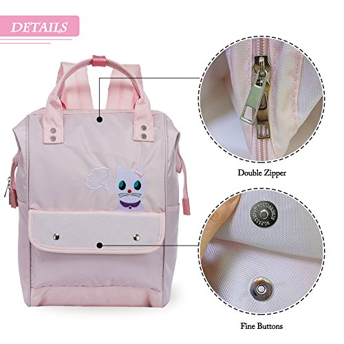 Unisex School ZOMAKE Camping for Multifunctional Sports Shoulder Bag Casual Knapsack Backpack Pink Travelling Teenager 07adq0r