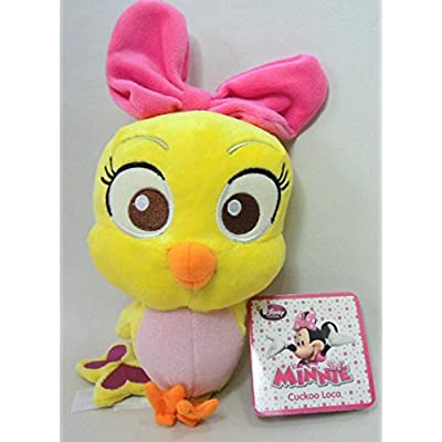 Disney Exclusive 7 Inch Plush Cuckoo Loca by Minnie Mouse: Toys & Games