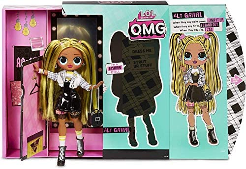 LOL Surprise O.M.G. Alt Grrrl Fashion Doll, 20 Sorprese
