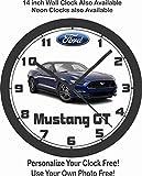 mustang car clock - 2016 FORD MUSTANG GT 5.0 WALL CLOCK-FREE USA SHIP!