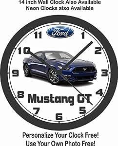 2016 FORD MUSTANG GT 5.0 WALL CLOCK-FREE USA SHIP!