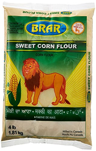 Sweet Corn Flour (4 lb, 1.81 kg) by Brar