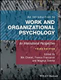 An Introduction to Work and OrganizationalPsychology - An International Perspective 3e