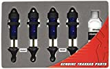 Traxxas 5460A Blue-Anodized Aluminum GTR Shocks (fully assembled w o springs) (set of Four)