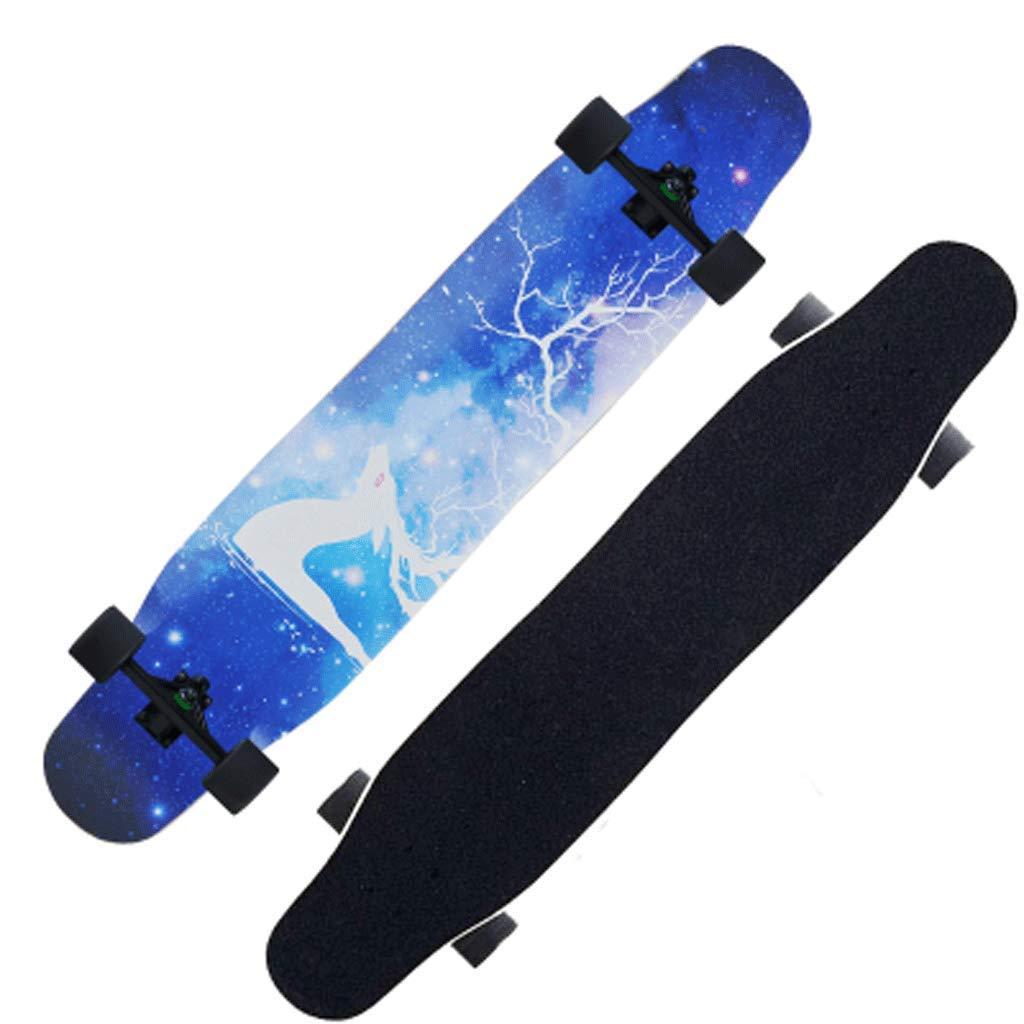 KYCD Long Board Road Vierrädern Maple Skateboard Erwachsene Mädchen Mädchen Mädchen Jungen Fähigkeiten Dance Board Street Skateboard Anfänger B07Q1ZC52R Longboards Bestätigungsfeedback 5aa272