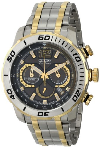 Citizen Eco Drive Mens Ca4084 51E Primo Stingray 620 Analog Display Two Tone Watch