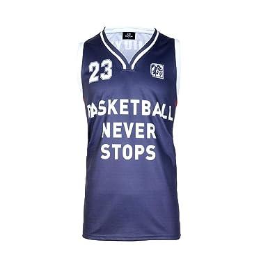 9b78869c7d20 DJY Customization Basketball Jerseys Moisture Wicking Basketball Training  Competition Sweatshirt Blue Red ...