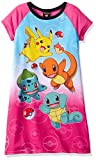 Pokemon Big Girls' Nightgown, Pink, 8