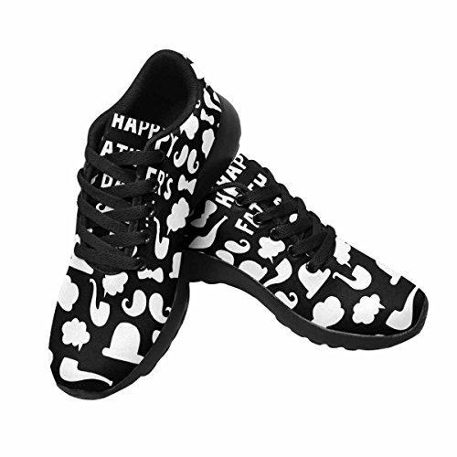 Chaussures De Course Trailprint Footprint Femmes Chaussures De Jogging Sport Léger Marchant Chaussures De Sport Athlétiques Bonne Fête Des Pères Typographic Design Multi 1
