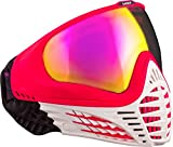 Virtue VIO Contour Thermal Paintball Goggles/Masks - White Ruby