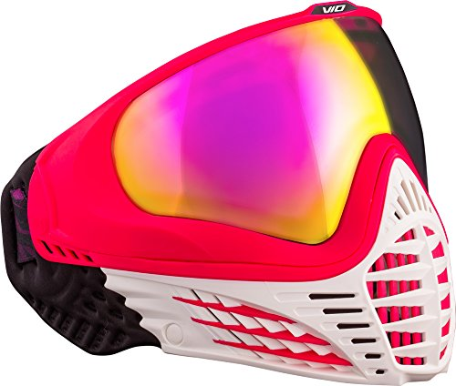 Virtue VIO Contour Thermal Paintball Goggles / Masks - White Ruby