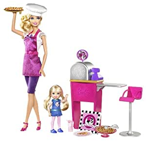 Barbie I Can Be... Pizza Chef Doll and Playset