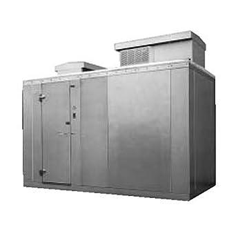 Amazon Com Nor Lake Kodf1010 C 10 X10 X6 7 Outdoor Walk In Freezer Industrial Scientific