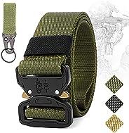 IronSeals Tactical Belt, Military Heavy Duty Waist Quick-Release Nylon Belt
