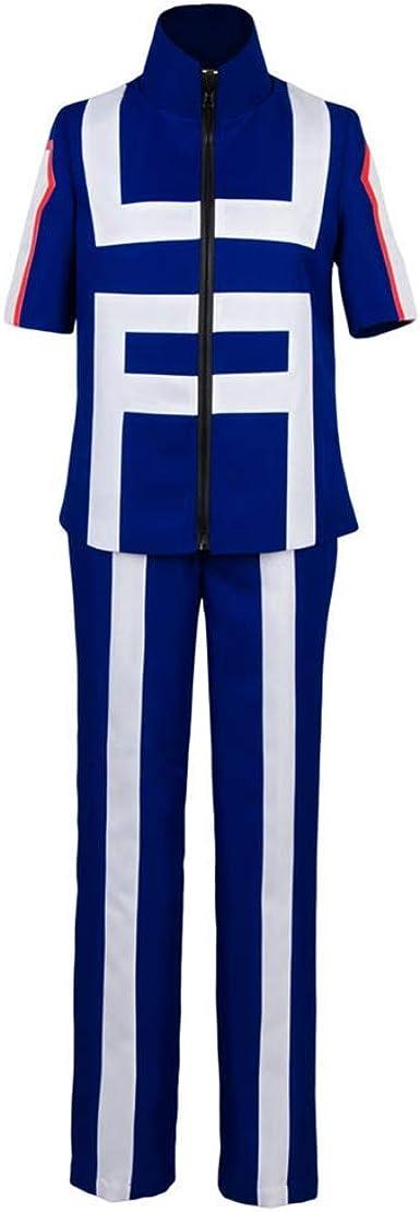 NoveltyBoy My Hero Academia Izuku Midoriya Training Suit Jacket Coat Pants Halloween Cosplay Costume