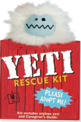 Yeti Rescue Kit Bigfoot Toys Amp Dolls Bigfoot Gifts