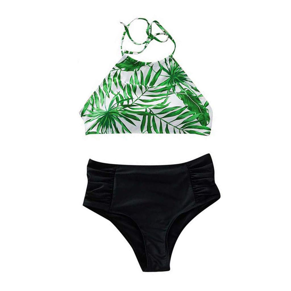 HHei_K Parent-Child Outfit Fashion Print Swimwear Suit Quick-Drying Running Surfing Sport Beach Swimsuit