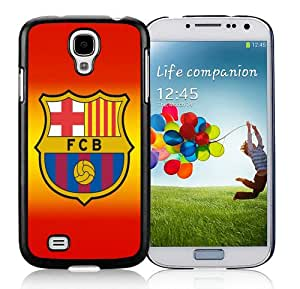 Barcelona 4 Black Case for Samsung Galaxy S4 i9500,Prefectly fit and directly access all the features